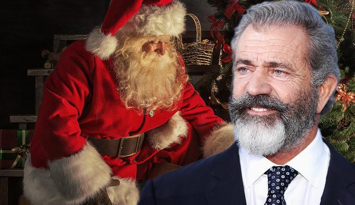 Aksiyon filmlerinin yıldızı Mel Gibson bu sefer Noel Baba rolünde