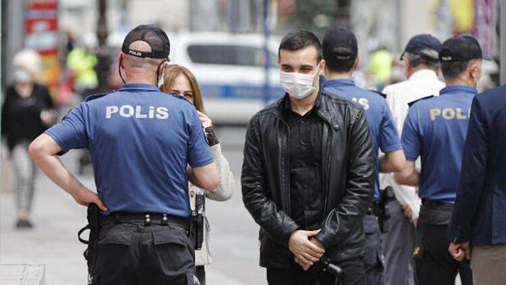Zonguldak'ta maske takmayan 101 kişiye toplam 90 bin 900 TL ceza