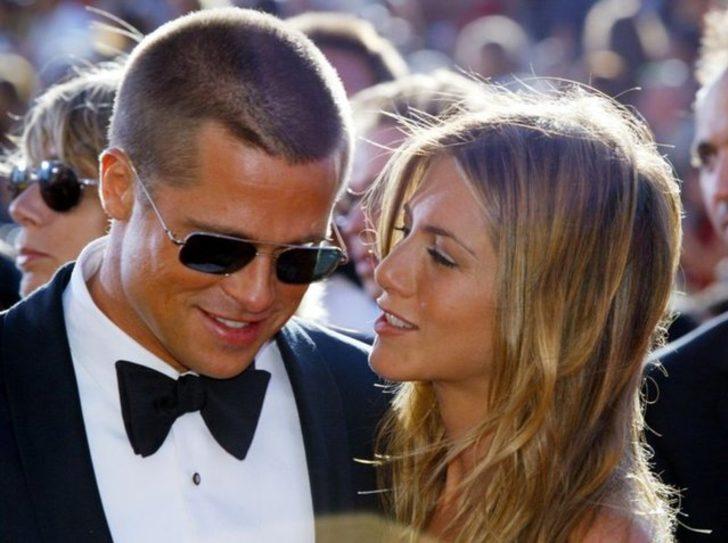 Brad Pitt ile eski eşi Jennifer Aniston 19 yıl sonra ilk kez aynı gösteride
