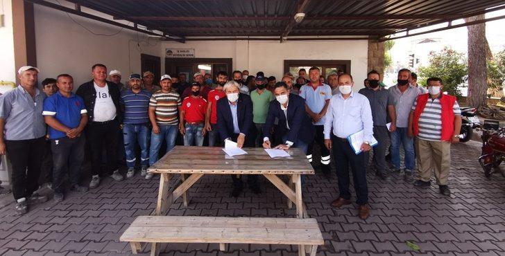 Osmaneli Belediyesi bünyesindeki şirket çalışanları Toplu İş Sözleşmesi imzaladı