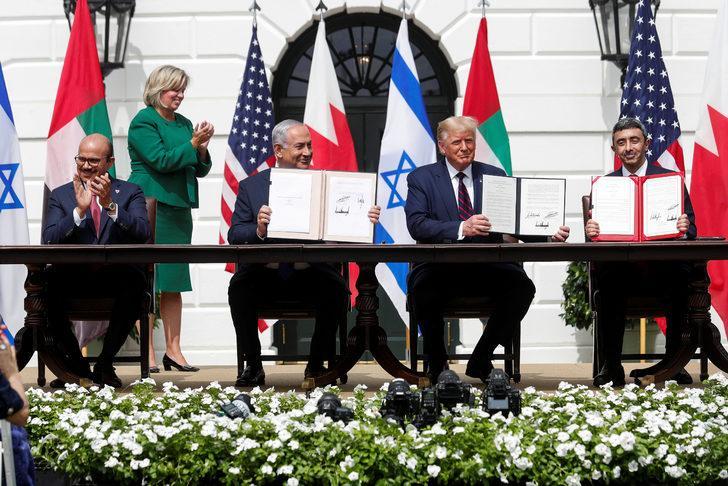 Filistin'i yok sayan anlaşma! Trump: Seçimden sonra İran ile anlaşacağız