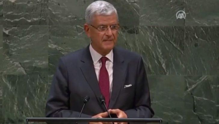 BM 75'inci Genel Kurul Başkanlığına seçilen Volkan Bozkır görevi devraldı