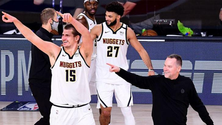 Batı'da finalin adı LA Lakers - Denver Nuggets