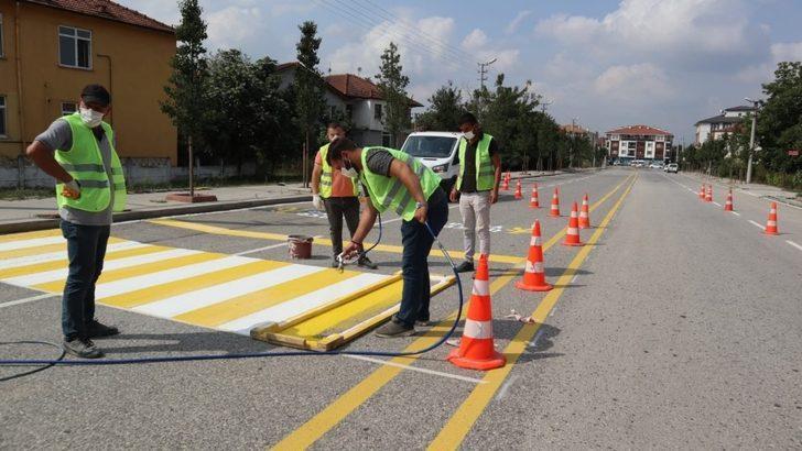 Alparslan Türkeş Bulvarı yenilendi
