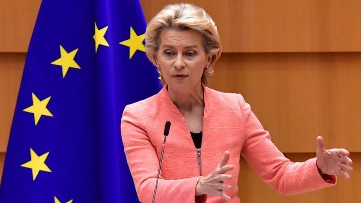 Avrupa Komisyonu Başkanı Ursula Von der Leyen: Türkiye'nin komşularını tehdit etmesini hiçbir şey haklı kılamaz