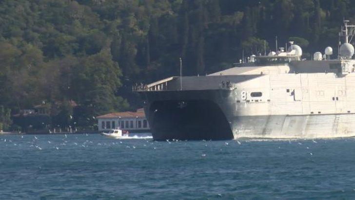 ABD'nin bir donama gemisi daha Karadeniz'de