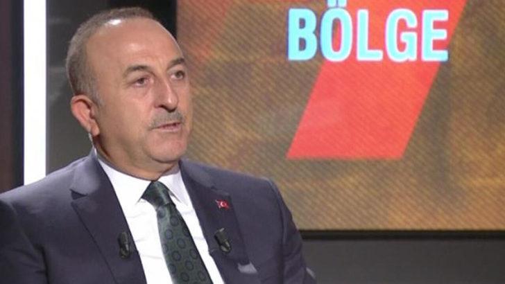 Bakan Çavuşoğlu'ndan CNN Türk canlı yayınında çarpıcı açıklamalar: Bu harita olduğu sürece müzakere olmaz