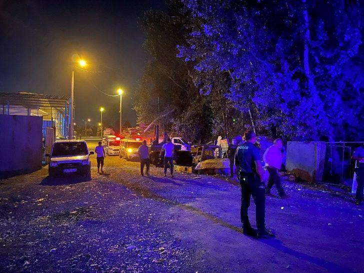 Sakarya'da hurdacı dükkanında şüpheli ölüm
