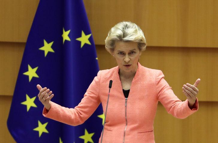 AB Komisyonu Başkanı Von Der Leyen'den Türkiye'ye yaptırım açıklaması