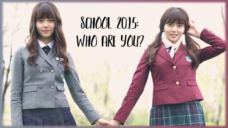 Keyifli ve farklı bir lise dizisi: Who Are You: School 2015 konusu