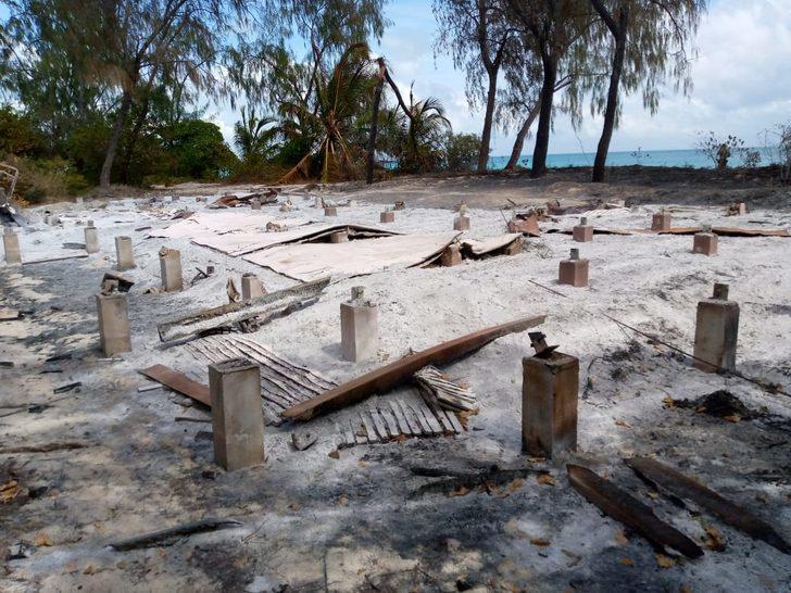 Terör örgütü IŞİD, Mozambik'te otel ve villaları yaktı