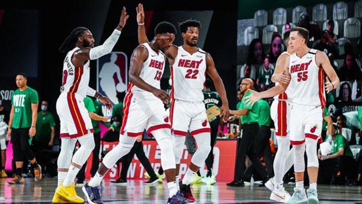 Doğu'da Miami Heat, Celtics karşısında 2-0 önde