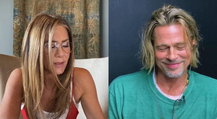 Brad Pitt ile Jennifer Aniston yıllar sonra aynı projede! Bu görüntü olay oldu