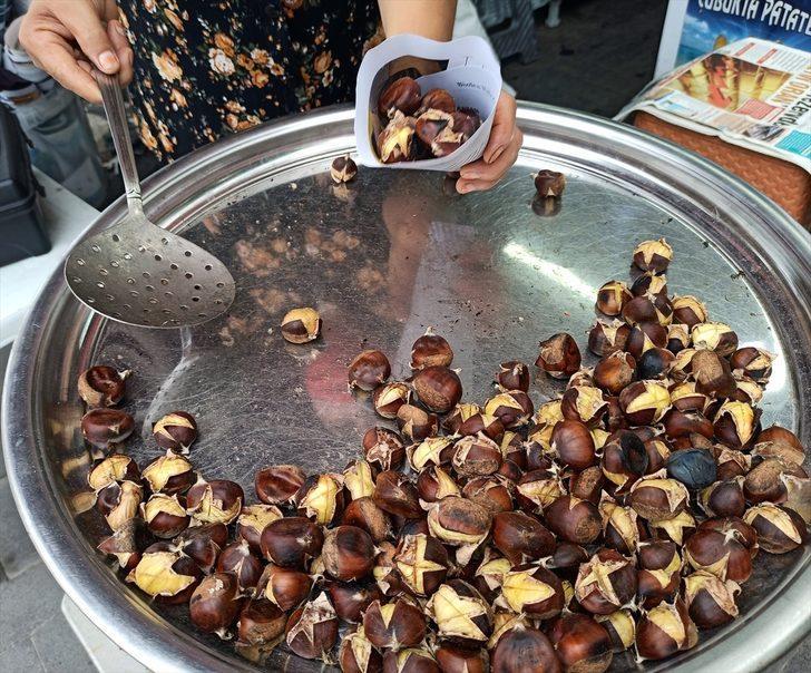 'Kestane kebap' kilogramı 100 liradan satışa sunuldu