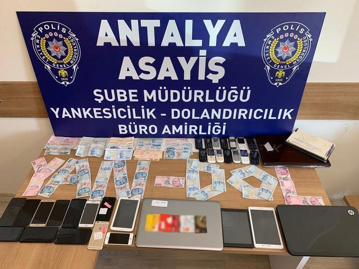 Antalya'da eskort siteleriyle dolandırıcılık operasyonu!