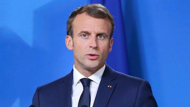 Macron'dan Türkçe tweet! Doğu Akdeniz mesajı verdi