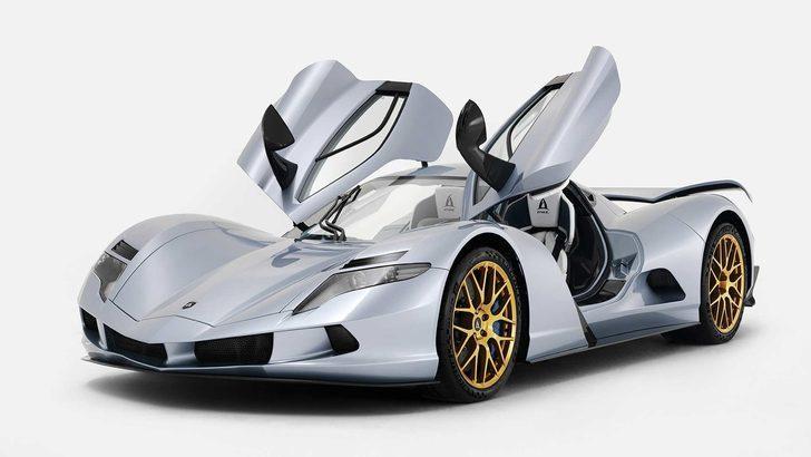 3,4 milyon dolarlık araba: Aspark Owl