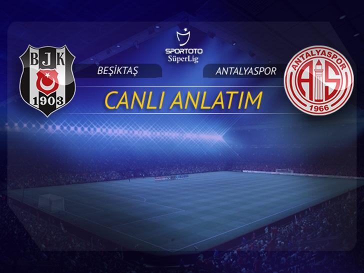 CANLI   Beşiktaş - Antalyaspor