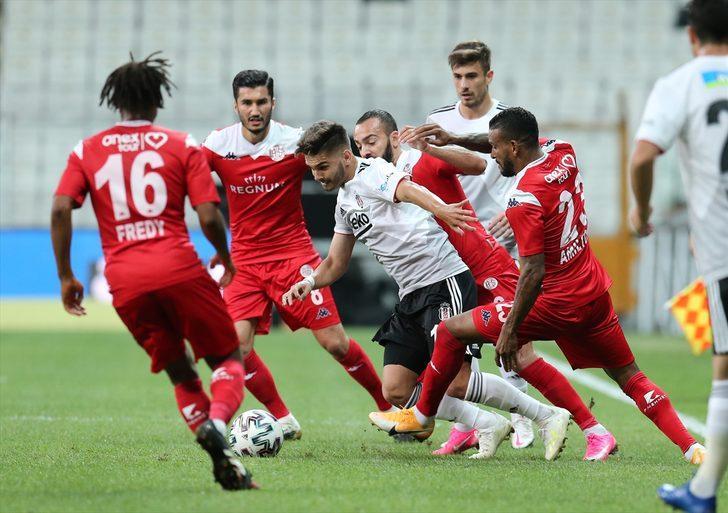 ÖZET | Beşiktaş - Antalyaspor: 1-1