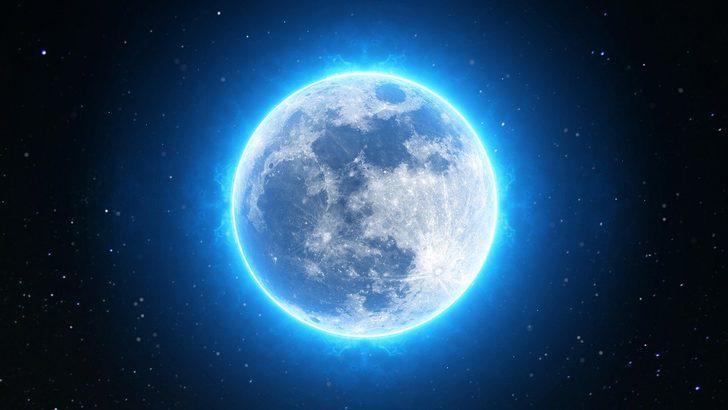 NASA duyurdu! 31 Ekim'de nadir görülen 'mavi dolunay' gerçekleşecek