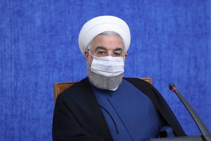 İran Cumhurbaşkanı Ruhani: ABD, zorbalıkla muamele ederse bizden kesin bir cevap alır