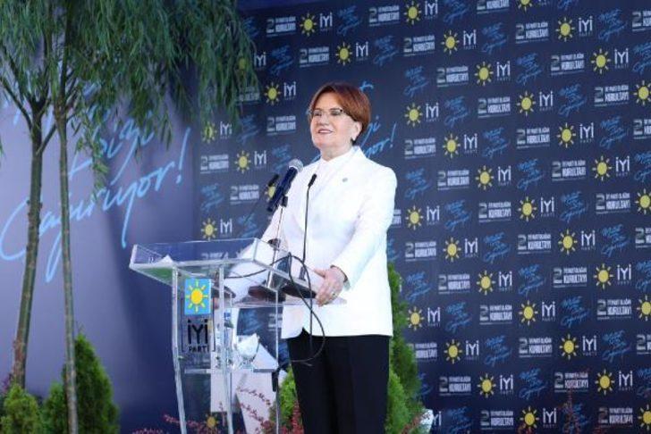İYİ Parti Genel Başkanlığına yeniden seçilen Akşener'den teşekkür mesajı