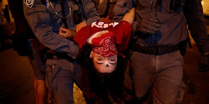 Karantinaya rağmen gösteriler durmuyor! İsrail karıştı