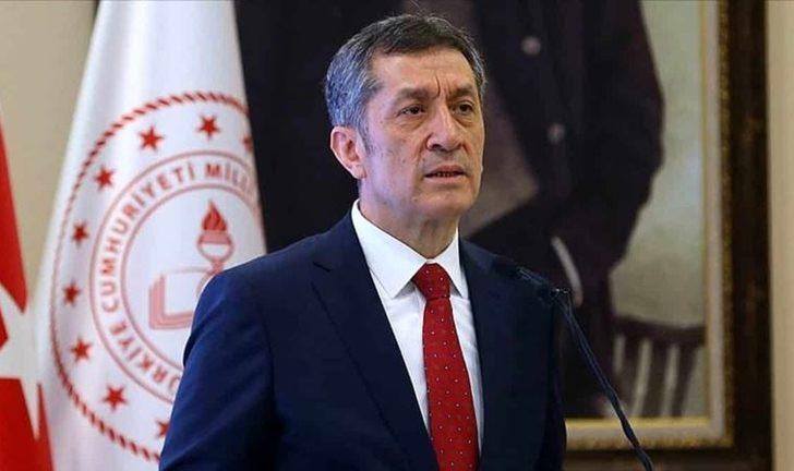 Milli Eğitim Bakanı Ziya Selçuk'tan uzaktan ve yüzyüze eğitim açıklaması