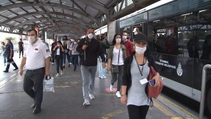 İstanbul'da kademeli mesai saati uygulaması başladı!