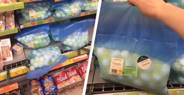 Haşlanmış yumurtaları paketleyip satışa çıkardılar: 'İsraf etmek istemedik'