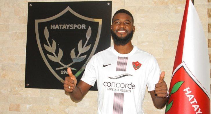 Hatayspor, Jean Claude Billong ile 2+1 yıllık sözleşme imzaladı