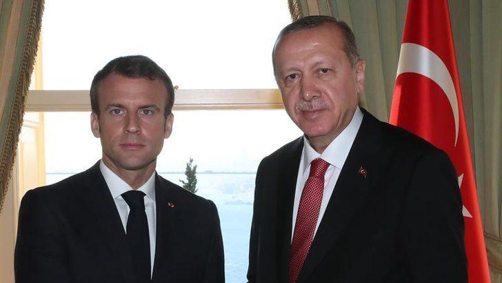 Son dakika! Cumhurbaşkanı Erdoğan ve Macron görüşecek