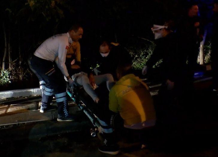 Amca ve yeğeni sokak ortasında silahla vuruldu