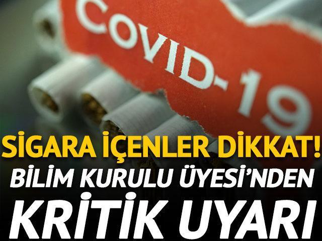 Bilim Kurulu Üyesi'nden kritik sigara uyarısı!
