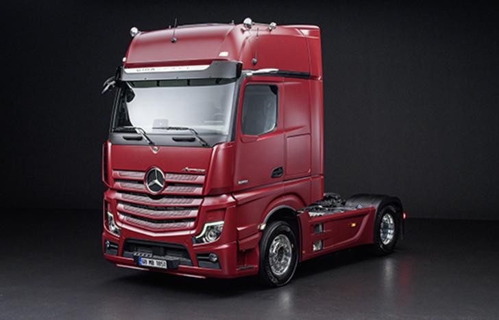 2020 Mercedes - Benz Actros 1851 fiyat listesi