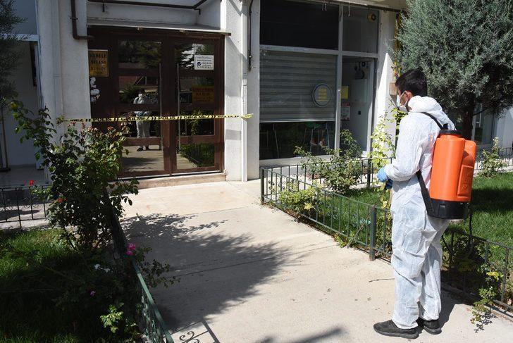 Apartman görevlisi ve eşi koronavirüse yakalanınca 129 daire karantinaya alındı