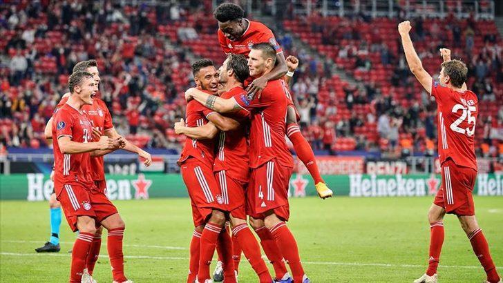 Bayern Münih, UEFA Süper Kupa'nın sahibi oldu
