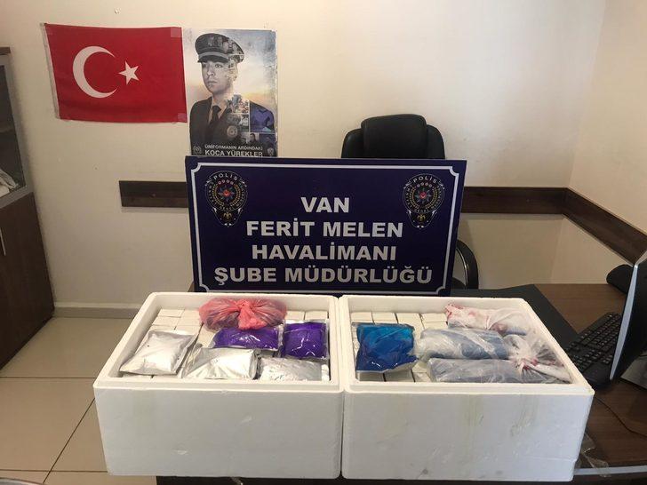 Van'da 224 kaçak botoks dolgu ürünü ele geçirildi