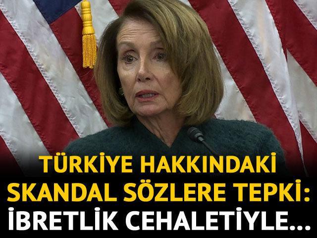 Bakan Çavuşoğlu'ndan Pelosi'ye çok sert tepki