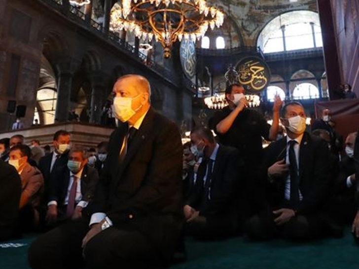 Cumhurbaşkanı Erdoğan cami cemaatine seslendi: Birbirimizi Allah için seveceğiz