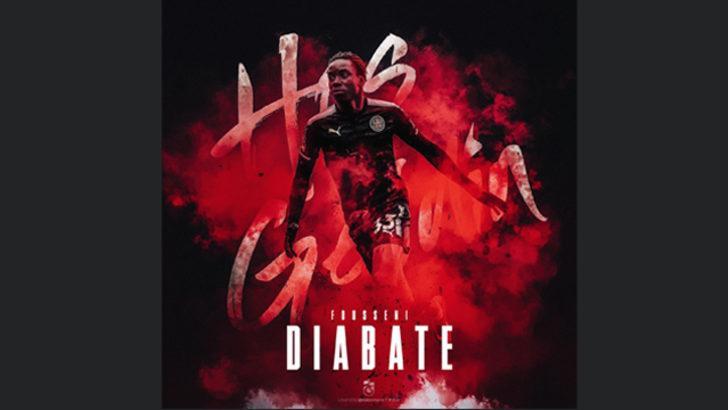 Trabzonspor Diabate'yi kadrosuna kattı