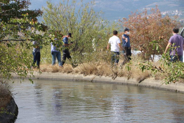 Tokat'ta, sulama kanalında kadın cesedi bulundu