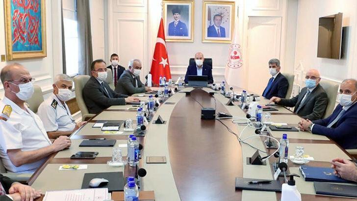 İçişleri Bakanı Süleyman Soylu'dan kritik toplantı