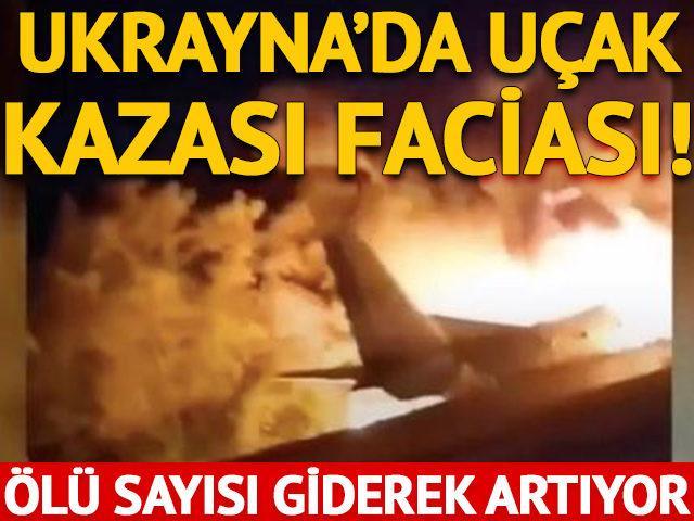 Ülkeyi sarsan haber! Askeri uçak düştü: 22 ölü
