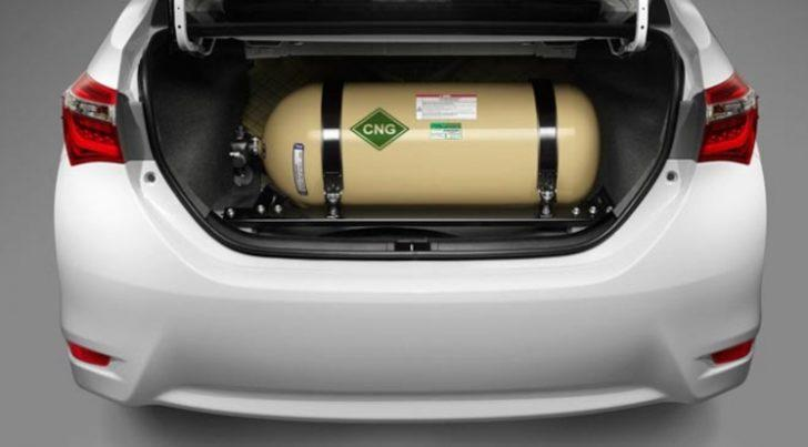 Sıkıştırılmış doğalgazın araba yakıtı olarak kullanımı