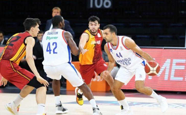 ÖZET   Anadolu Efes 80-56 Galatasaray