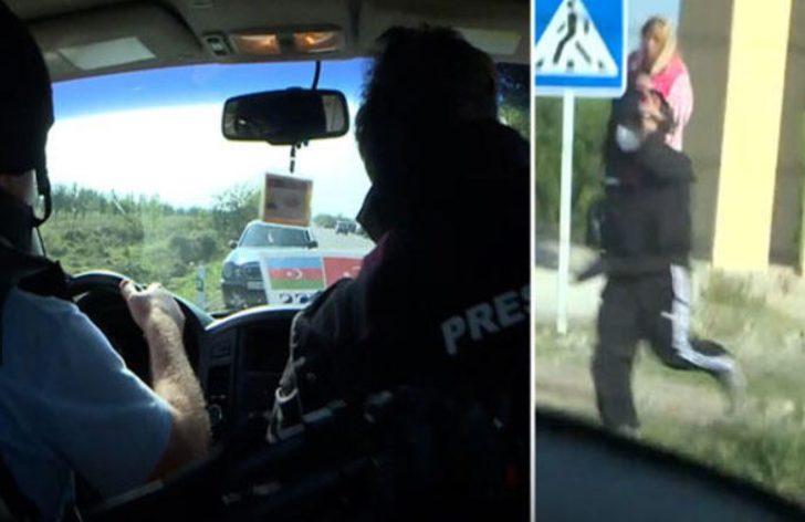 Ermenistan topçuları AA ve TRT ekibini hedef aldı! Gazeteciler son anda kurtuldu