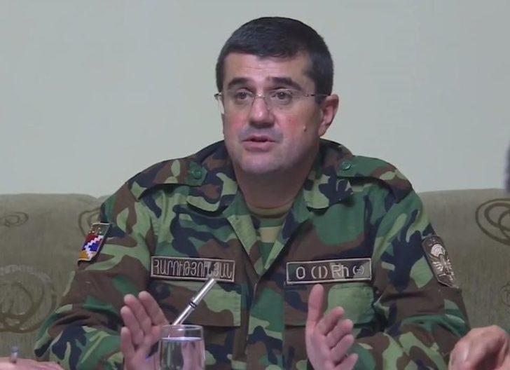 Ermenistan işgalindeki Karabağ'ın sözde liderinden çarpıcı iddia: Türkiye de var