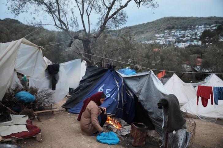 Yunanistan'da Malasaka mülteci kampında koronavirüs nedenli ilk ölüm