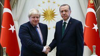Erdoğan-Johnson arasında kritik görüşme!